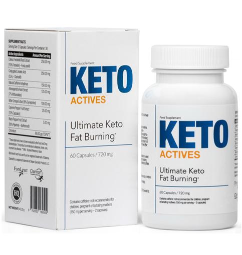 Keto Actives Ultimate Keto Fat Burning